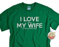 Mountain Biking Shirt I LOVE It When MY WifeR Brand Lets Me Go Gift Husband Birthday Anniversary Bike Tshirt Cyclist Gifts