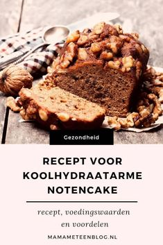 Low carbohydrate nut cake: recipe, nutritional values ​​and benefits . - Low carbohydrate nut cake: recipe, nutritional values ​​and benefits recipes Low - Keto Food List, Food Lists, Healthy Cake, Healthy Snacks, Big Mac, Cake Recipes, Dessert Recipes, Desserts, Valeur Nutritive