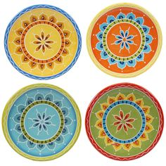 "Certified International Valencia 6.25"" Canape Plate & Reviews 