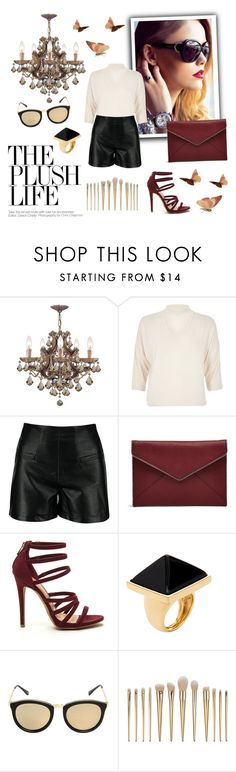 """""""Sis"""" by laurenleigh-bee on Polyvore featuring Chopard, River Island, Rebecca Minkoff, Kenneth Jay Lane and Le Specs"""