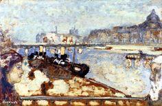 The Quays of Paris  Pierre Bonnard - circa 1906