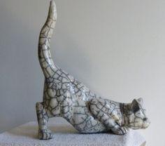 Les animaux en RAKU | Les sculptures de Nadia