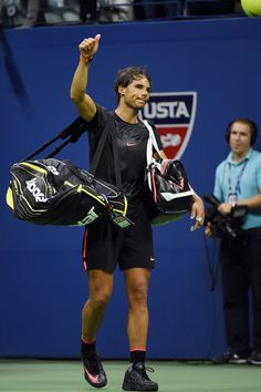 Nadal says farewell to the 2015 US Open after losing to Fabio Fognini