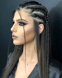 29 Trendy Braided Hairstyles For Long Hair To Look Amazingly Awesome : Page 8 of 26 : Creative Vision Design hair style – Hair Models-Hair Styles Side Braid Hairstyles, Frontal Hairstyles, Braided Hairstyles, Cool Hairstyles, Wedding Hairstyles, Princess Hairstyles, Hairstyle Short, Creative Hairstyles, Updo Hairstyle