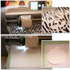 DIY Stencils Tutorial using contact paper or vinyl and the Cricut