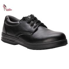 competitive price ae649 a2a85 PORTWEST FW80 SteeliteTM Laced Safety Work Shoe S2 Black FW80BK-R38 Amazon.fr  Chaussures et Sacs