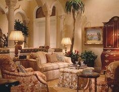 Boca Raton Interior Decorating Firm   Boca Raton Classic Mediterranean