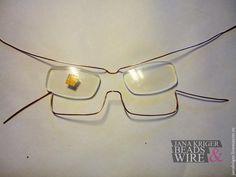Создаем оправу для очков в технике wire work - Ярмарка Мастеров - ручная работа, handmade