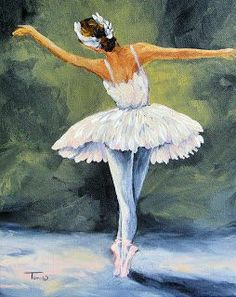 The Ballerina II Acrylic Print by Torrie Smiley. All acrylic prints are professionally printed, packaged, and shipped within 3 - 4 business days and delivered ready-to-hang on your wall. Ballerina Kunst, Ballerina Painting, The Ballerina, Ballet Drawings, Art Drawings, Dance Paintings, Ballet Art, Painting People, Oeuvre D'art