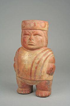 Jar, Fat Figure Date: century Geography: Peru Culture: Moche Medium: Ceramic, pigment In Ancient Times, Ancient Art, Ancient History, Art History, Ancient Peruvian, Peruvian Art, Inca Art, Peru Culture, Colombian Art