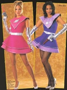 It's going to be an outer space party! Space Theme Costume, Space Party Costumes, Outer Space Costume, Space Girl Costume, Girl Costumes, Costumes For Women, Cosplay Costumes, Purple Dress, Fancy Dress