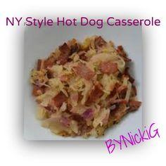 By NickiG: NY Style Hot Dog Casserole