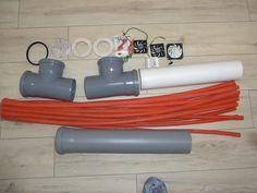 Einzelteile zum Luftwärmetauscher