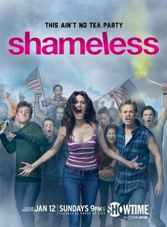 Shameless (US) It is a remake of the award-winning British series of the same name broadcast on Channel 4. An alcoholic man lives in a perpetual stupor while his six children with whom he lives cope as best they can.