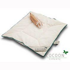 Kapok Baby Kissen 40 x 45 cm - flach- von COCOON