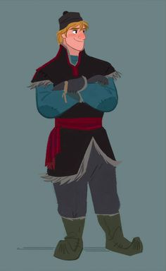 Kristoff art from #DisneyFrozen