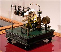 "Art Math: Steampunk Technology + Bones = ""Osteomechanics"""