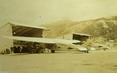Ford 5-AT-C Trimotor (YV-AVC) of AVENSA at Maiquetia airport.