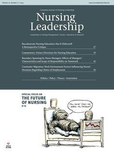 Nursing Leadership Vol 27 No 2 June 2014