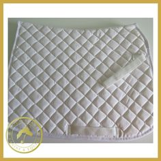 Celtic Equine White Plain Saddle Cloth is a Lightweight and Breathable pad with Form retaining due to 15mm of foam and 120g polyfill. An excellent hardwearing and value pad.