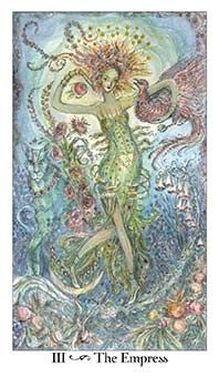 September 29 Tarot Card: The Empress (Paulina deck) Breathe in the earth now. Connecting with Mother Nature calms the spirit, eases the mind, and enriches your soul