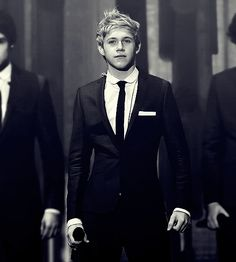 Suits...they make every guy look more attractive, even though Niall doesn't need it (;