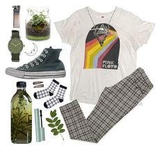 A fashion look from August 2017 featuring white trousers, black and white socks and hi tops. Browse and shop related looks. Retro Outfits, Grunge Outfits, Cute Casual Outfits, Vintage Outfits, Fashion Outfits, School Looks, Skateboard Style, Mode Grunge, Look Retro