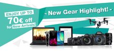 Fabulous Feb has gone! But March Still Marvellous!  We have Preciously selected various NEW GEARs with Marvellous Price Cut up to 70€ OFF! Buy Yourself a NEW GEAR for this Marvellous Month! >> http://www.eglobalcentral.eu/new-gear-sale-2015.html?utm_source=Pinterest%20Banner&utm_medium=Social&utm_campaign=Pinterest%20Promo