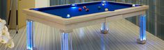 Gallery in a Page – Luxury Pool Tables - Pool Dining Table Experts