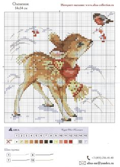 Cross-stitch Baby Deer...    Gallery.ru / Фото #8 - 142 - lillyt