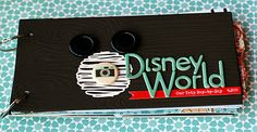 Excellent Disney Scrapbook ideas from The Paper Orchard.