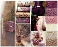 Plum Wine-the colors of my fairy cottage!