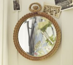 Carved Rope Mirror | Pottery Barn