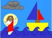 jesus walks on water craft - Google Search