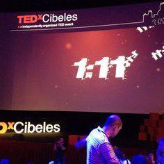 #TEDXCibeles calentando motores