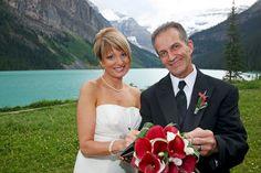 Peak Photography: Lake Louise Wedding Photographer - Michele & Raymond