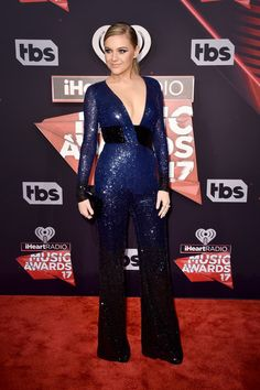 Singer Kelsea Ballerini attends the 2017 iHeartRadio Music Awards which broadcast live on Turner's TBS, TNT, and truTV at The Forum on March 5, 2017 in Inglewood, California.