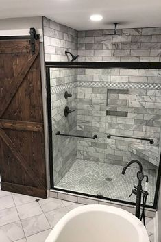 Rustic bathrooms 549228117057814517 - Master Bathroom Remodel : Designs, Tips, & Details Source by ashleywinndesign Bad Inspiration, Bathroom Inspiration, Bathroom Ideas, Bathroom Showers, Bathroom Colors, Tile Showers, Colorful Bathroom, Bathroom Design Layout, Bathroom Hacks