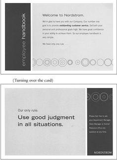 The World's Shortest Employee Handbook - Weekdone blog
