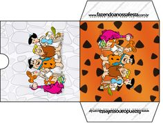 Envelope CD DVD Os Flintstones: