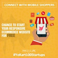 If #MobileShoppers are your priority, Yo!Kart is your ideal partner. Join #YoKart100Startups to get its free license www.yo-kart.com/100-startups-event.html #eCommerce #Startups #Entrepreneur #Event