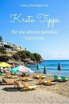 All important Crete tips at a glance Travel Through Europe, Travel Around, Most Beautiful Beaches, Beautiful Places In The World, Greek Isles, Reisen In Europa, Future Travel, Greece Travel, Beach Resorts