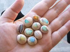 These opals look like mini hatching dragon eggs - i need these. lots of these.