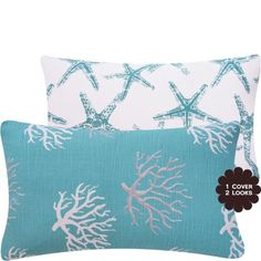 """Material: Durable cotton linen fabric Size: 18""""x18"""" Hidden zipper closure for easy insertion or removal of cushion"""