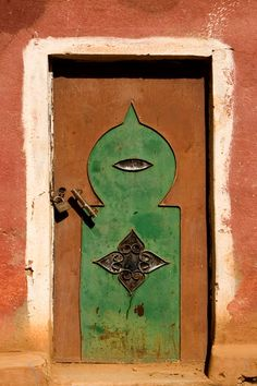 Steel door from the Anti-Atlas Mountains..