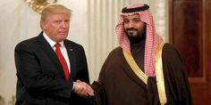 """Top News: """"USA POLITICS: Trump Meets With Saudi Prince Mohammed bin Salman at White House"""" - http://politicoscope.com/wp-content/uploads/2017/03/Donald-Trump-met-with-Saudi-Arabias-Deputy-Crown-Prince-Mohammed-bin-Salman-at-the-White-House.jpg - Trump, who took office in January, and Prince Mohammed who is also the kingdom's defense minister, kicked off their talks in the Oval Office, where they posed for a picture in front of journalists and did not take questions.  on World"""