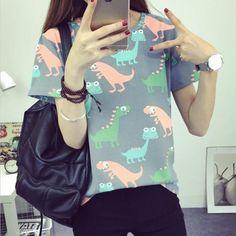 Retro Dinosaur T-Shirt