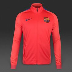 Nike FC Barcelona 16/17 Dry Strike Track Jacket - Bright Crimson/Game Royal