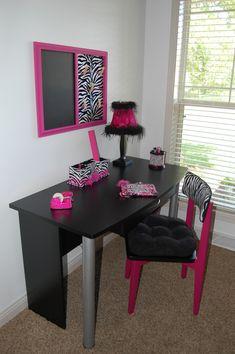 Second photo of zebra room re-do!