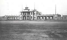 المطار القديم، المعماري ه س ميسون، بغداد، مصور في الخمسينات